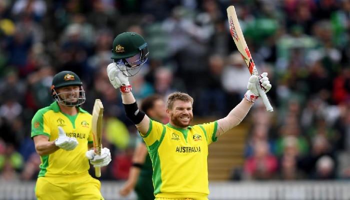 ICC Cricket World Cup 2019: ಡೇವಿಡ್ ವಾರ್ನರ್ ಶತಕ ; ಆಸ್ಟ್ರೇಲಿಯಾ 307ಕ್ಕೆ ಆಲೌಟ್