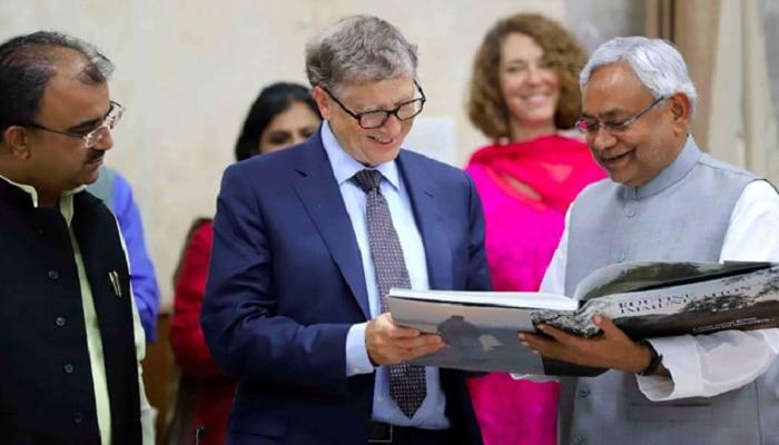 ಬಿಹಾರ್ ಸಿಎಂ ನಿತೀಶ್ ಕುಮಾರ್ ಬಗ್ಗೆ ಬಿಲ್ ಗೇಟ್ಸ್ ಮೆಚ್ಚುಗೆ ವ್ಯಕ್ತಪಡಿಸಿದ್ದೇಕೆ?