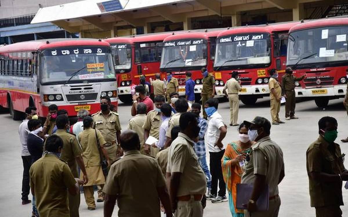 KSRTC Bus: ಶಿವಸೇನೆ ಪುಂಡಾಟಿಕೆ; ಕರ್ನಾಟಕ-ಮಹಾರಾಷ್ಟ್ರ ಬಸ್ ಸಂಚಾರ ಬಂದ್!