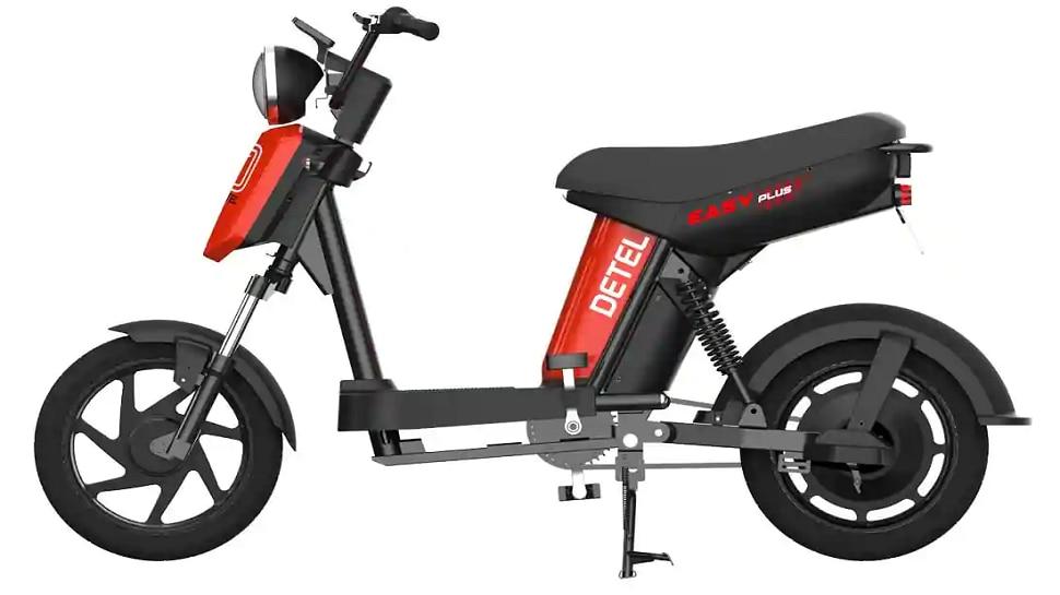 Detel Easy Plus: DL ಅವಶ್ಯಕತೆ ಬೀಳದ ಅಗ್ಗದ ಬೆಲೆಯ Electric Moped ಲಾಂಚ್, ಬೆಲೆ ಎಷ್ಟು ಗೊತ್ತಾ?