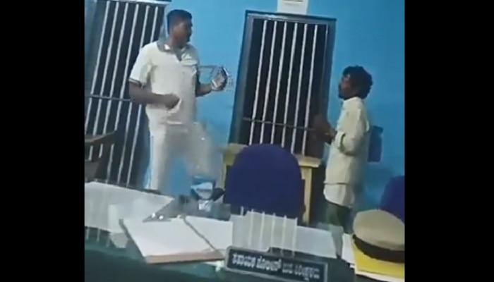 Viral: ಆರೋಪಿ ಮುಂದೆ ಪೊಲೀಸ್ ಸಬ್ ಇನ್ಸ್ಪೆಕ್ಟರ್ ಡ್ಯಾನ್ಸ್...!