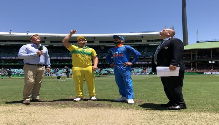 India vs Australia ಏಕದಿನ ಪಂದ್ಯ: ಟಾಸ್ ಗೆದ್ದ ಆಸ್ಟ್ರೇಲಿಯಾ ಬ್ಯಾಟಿಂಗ್ ಆಯ್ಕೆ