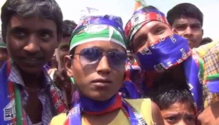 ಸಿಎಂ ನಿತೀಶ್ ಕುಮಾರ್ ಸಾರ್ವಜನಿಕ ಸಭೆಯಲ್ಲಿ ಮಕ್ಕಳಿಗೆ ಹಣ!