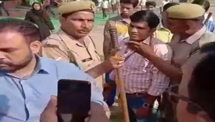 VIDEO: ಮೊರಾದಾಬಾದ್ನಲ್ಲಿ ಚುನಾವಣಾಧಿಕಾರಿ ಮೇಲೆ ಕೈ ಮಾಡಿದ ಬಿಜೆಪಿ ಕಾರ್ಯಕರ್ತರು!
