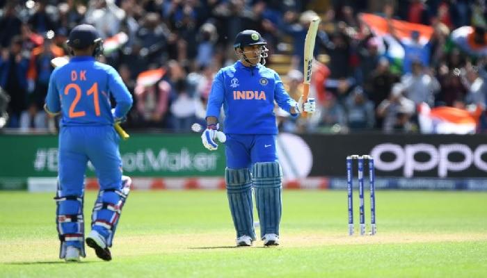 ಐಸಿಸಿ ಕ್ರಿಕೆಟ್ ವಿಶ್ವಕಪ್ 2019:  ಬಾಂಗ್ಲಾ ವಿರುದ್ಧ ಧೋನಿ, ರಾಹುಲ್ ಶತಕ, 359/7