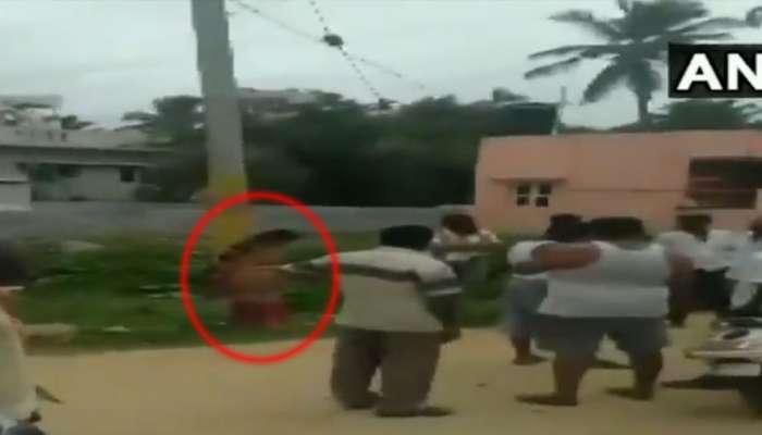 VIDEO: ಸಾಲ ತೀರಿಸದ ಮಹಿಳೆಯನ್ನು ಕಂಬಕ್ಕೆ ಕಟ್ಟಿ ಹೊಡೆದ್ರು! ಮುಂದೆ...