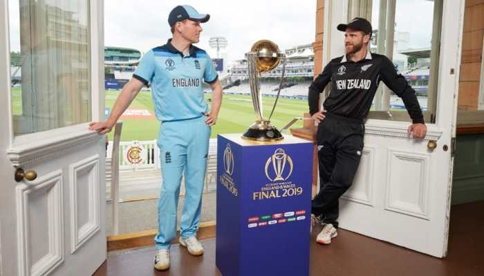 ICC World Cup 2019: ಇಂಗ್ಲೆಂಡ್ vs ನ್ಯೂಜಿಲೆಂಡ್ ಫೈನಲ್ ಪಂದ್ಯಕ್ಕೆ ಕ್ಷಣಗಣನೆ, ಯಾರ ಪಾಲಾಗಲಿದೆ ವಿಶ್ವಕಪ್ ಟ್ರೋಫಿ?
