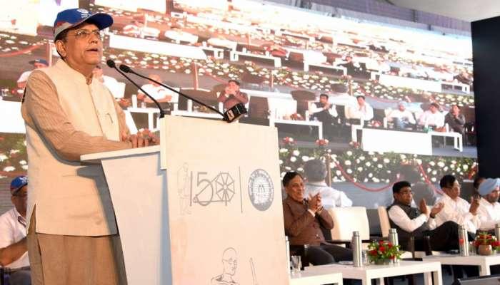 2022ರೊಳಗೆ ಕಾಶ್ಮೀರದಿಂದ ಕನ್ಯಾಕುಮಾರಿವರೆಗೆ ರೈಲು ಸಂಪರ್ಕ: ಪಿಯೂಶ್ ಗೋಯಲ್