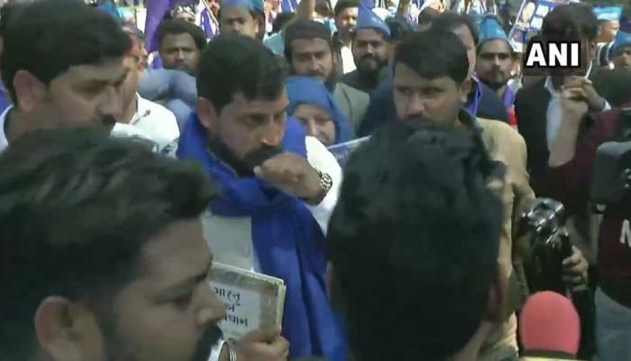 'ಆರಕ್ಷಣ ಬಚಾವೊ' ಚಳುವಳಿಗೆ ಭೀಮ್ ಆರ್ಮಿ ಚಂದ್ರಶೇಖರ್ ಆಜಾದ್ ಚಾಲನೆ