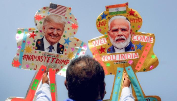 ಕುಟುಂಬ ಸಮೇತರಾಗಿ ಇಂದು ಭಾರತಕ್ಕೆ US ಅಧ್ಯಕ್ಷ ಟ್ರಂಪ್ ಆಗಮನ
