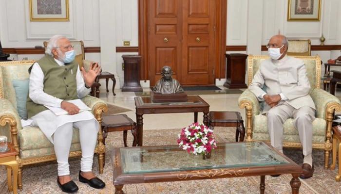 30 ನಿಮಿಷಗಳ ಕಾಲ ರಾಷ್ಟ್ರಪತಿಗಳ ಭೇಟಿ ನಡೆಸಿದ PM Modi ಅವರಿಗೆ ನೀಡಿದ ಮಾಹಿತಿಯಾದರು ಏನು?
