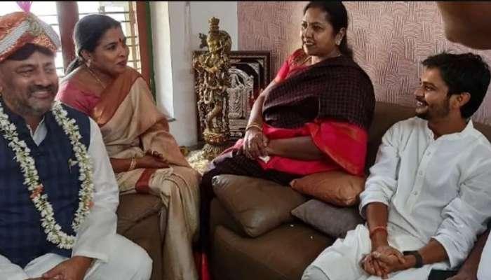 D.K.Shivakumar: ವಿನಯ್ ಗುರೂಜಿ ಜೊತೆ 20 ನಿಮಿಷ ಮಾತುಕತೆ ನಡೆಸಿದ ಡಿ.ಕೆ.ಶಿವಕುಮಾರ್