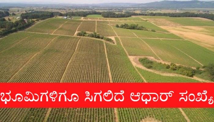 Land Unique Code - ಇನ್ಮುಂದೆ ನಿಮ್ಮ ಜಮೀನಿಗೂ ಸಿಗಲಿದೆ 'Aadhaar Card' ಮಾದರಿಯ ವಿಶಿಷ್ಟ ಸಂಖ್ಯೆ