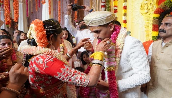 Aishwarya-Amartya Reception: ಇಂದು ಡಿಕೆಶಿ ಮಗಳ ಆರತಕ್ಷತೆ, ಪ್ರವೇಶಕ್ಕೆ BARCODE ವ್ಯವಸ್ಥೆ