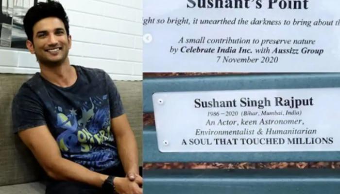 Sushant Singh: ಆಸ್ಟ್ರೇಲಿಯಾದ ಬೆಂಚ್ ಮೇಲೆ ಸುಶಾಂತ್ ಹೆಸರು! ಭಾವುಕ ಪೋಸ್ಟ್ ಶೇರ್ ಮಾಡಿದ SSR ಸಹೋದರಿ!