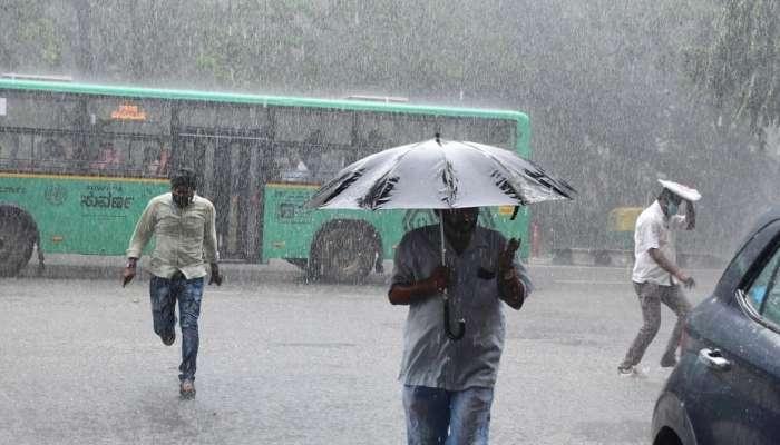 Rainfall in Karnataka: ರಾಜ್ಯದ ಹಲವಡೆ ಗುಡುಗು ಸಹಿತ ಭಾರಿ ಮಳೆ: ಕೆಲವು ಜಿಲ್ಲೆಗಳಲ್ಲಿ 'ಯಲ್ಲೋ ಅಲರ್ಟ್'
