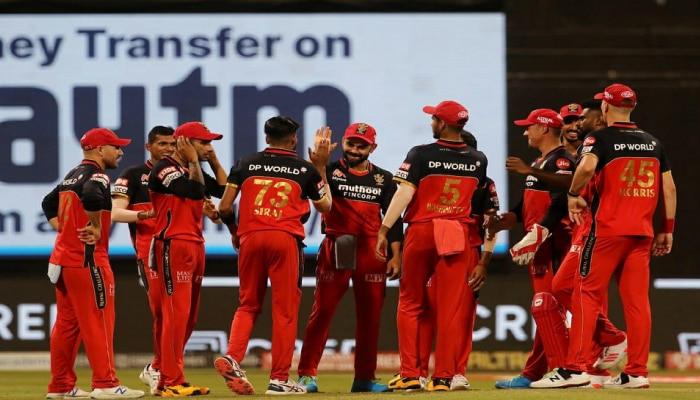 IPL 2021: ಪ್ಲೇ ಆಫ್ ಗೆ ಎಂಟ್ರಿ ಕೊಟ್ಟ ಬೆಂಗಳೂರಿನ ವಿರಾಟ್ ಬಳಗ